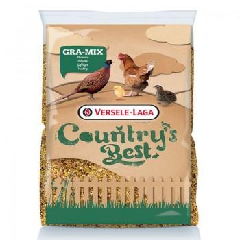 Gra-mix mélange poules et faisans